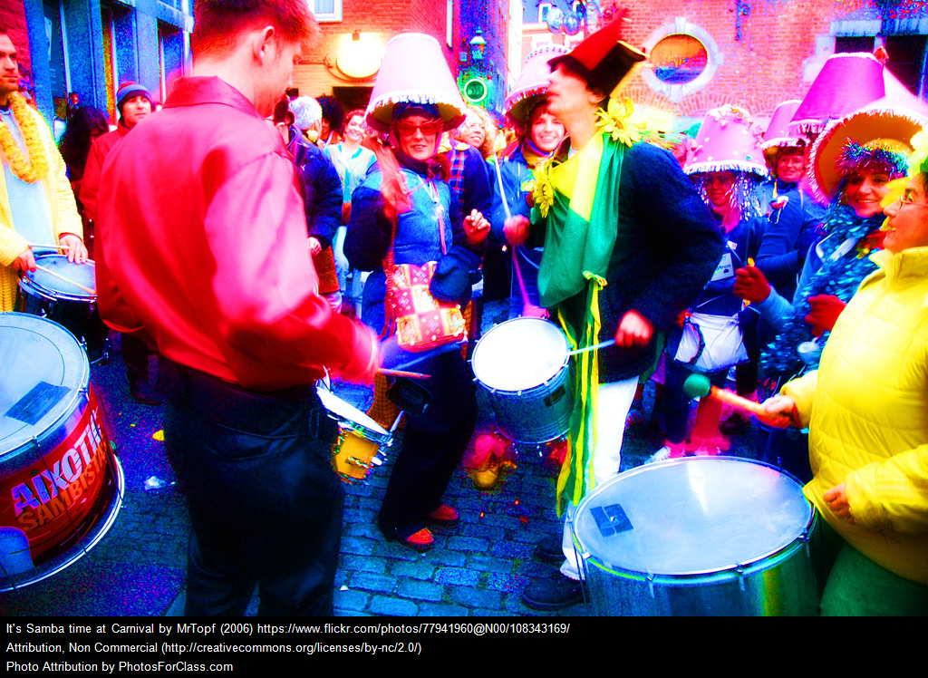It\'s Samba time at Carnival